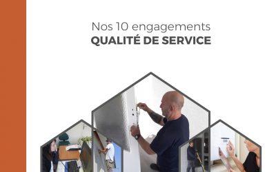 Nos 10 engagements pour vous garantir un service de qualité au quotidien