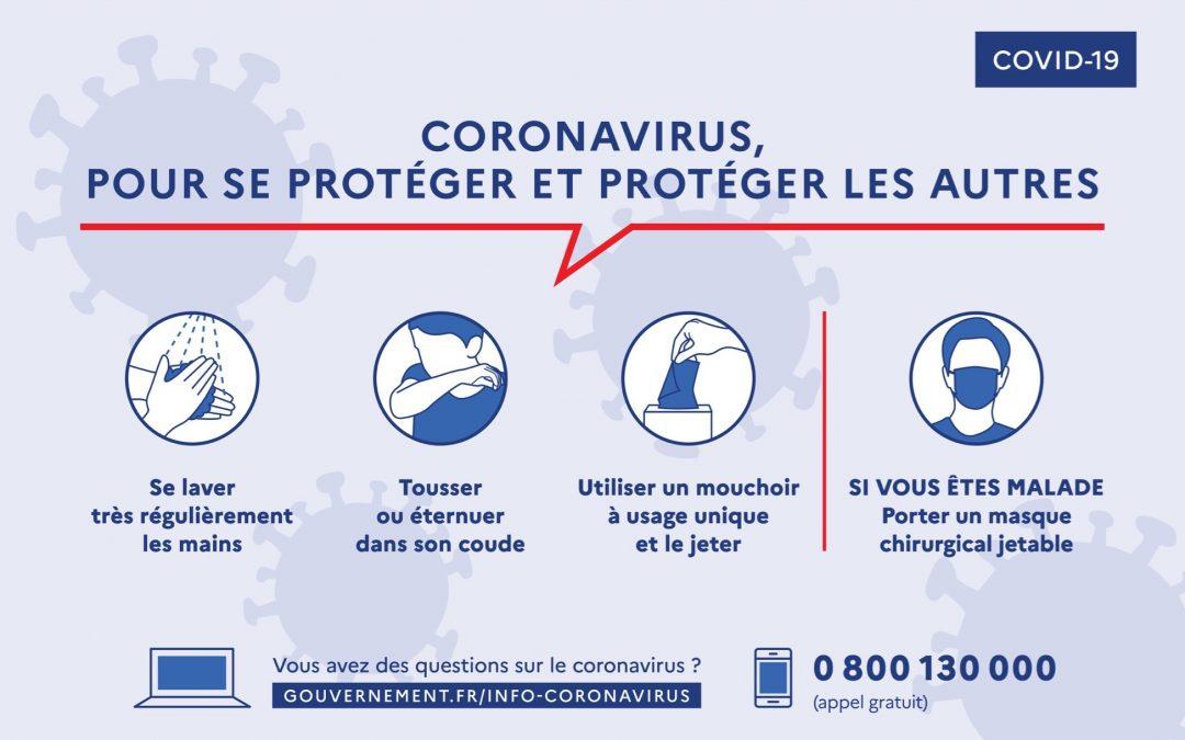 COVID-19 : Les bons gestes à adopter pour se protéger et protéger les autres